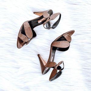 Rupert Sanderson Bronze Sandals